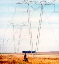 One of the earliest projects in Argentina, a 614 km transmission line from Río Tercero to El Bracho (1968).